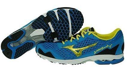 665fbed13d Mizuno Men's Wave Ronin 5 Running Shoe,Dude Blue/Yellow,11 D US