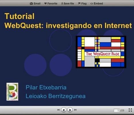 SITUACIONES DE APRENDIZAJE II: Web Quest - ineveryCREA: la comunidad de la creatividad educativa | scoop.it Social media -web 2.0 | Scoop.it