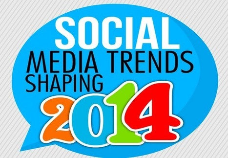 7 Social Media Trends That Are Shaping 2014 Infographic | Branding | Scoop.it