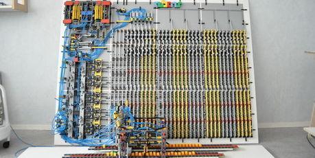 L'ordinateur en Lego inspiré par Alan Turing ! | Just Do It Yourself | Scoop.it