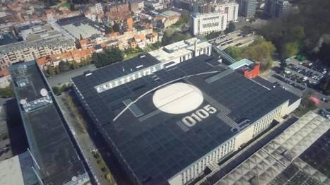 Un tag géant de 90m découvert sur les toits de la RTBF (vidéo) | World of Street & Outdoor Arts | Scoop.it