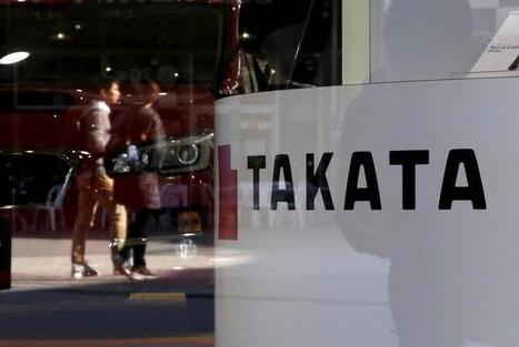 Takata to pay $1 billion to settle U.S. air bag probe | California Car Accident and Injury Attorney News | Scoop.it