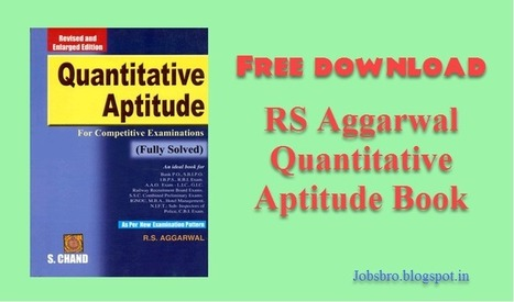 Rs aggarwal quantitative aptitude test book pdf rs aggarwal quantitative aptitude test book pdf free download fandeluxe Image collections