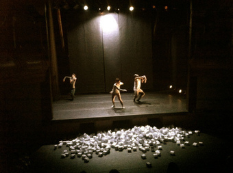 Paredes de papel | Festival Internacional Madrid en Danza 2012 | Scoop.it