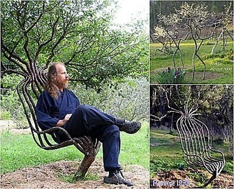 Peter Cook: Garden Chair | Art Installations, Sculpture, Contemporary Art | Scoop.it