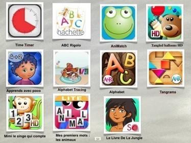 Une tablette numérique (iPad) pour aider les élèves en difficulté. - TICE – espace des usages | Autour de l'info doc | Scoop.it