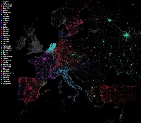 Twitter revela la realidad del uso de las lenguas en el mundo | Blog Nodos Ele | Crowd all | Scoop.it