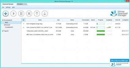Winner Download Manager : télécharger les fichiers plus facilement TranCool | Au fil du Web | Scoop.it