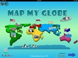 App of the Week: Map My Globe | iPads, MakerEd and More  in Education | Scoop.it