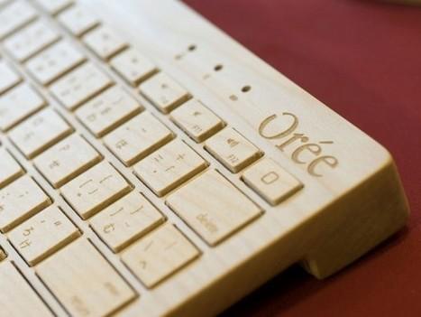 Orée : un clavier en bois made in France   Ageka les matériaux pour la construction bois.   Scoop.it