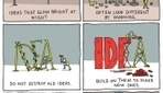 A Thought-Provoking Comic That Shows You How To Develop Ideas - DesignTAXI.com | Innovative K12 Leadership | Scoop.it