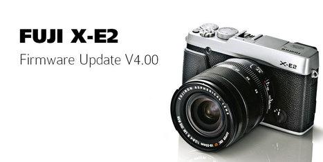 Fujifilm x-e2 firmware v4. 0 announced.