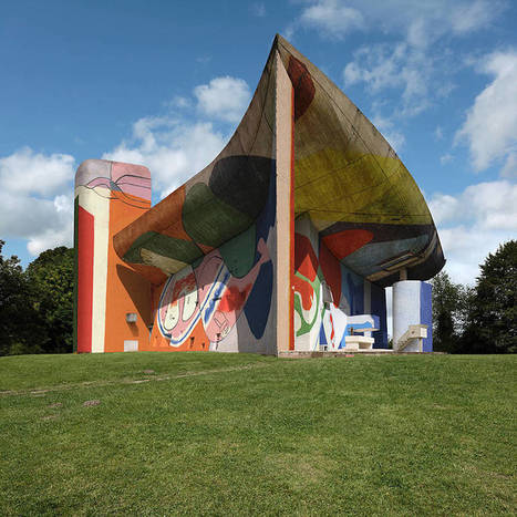 Le Corbusier's Ronchamp Chapel Covered by GRAFFITI | Mid-Century Modern Architects and Architecture | Scoop.it