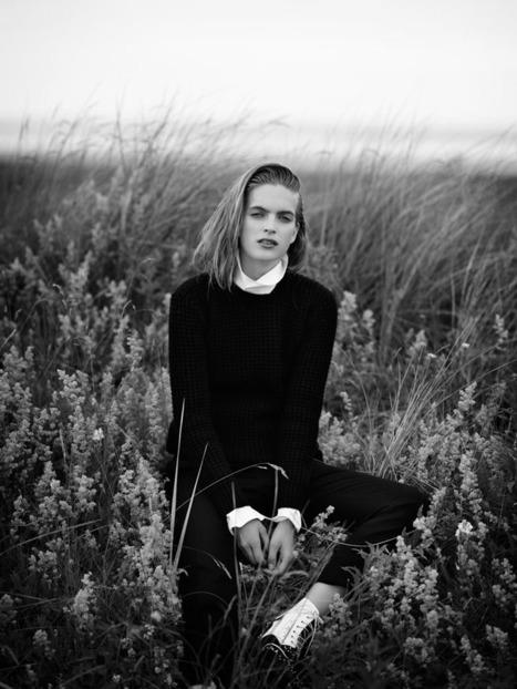 [editorial] Mirte Maas (Women Management) by Annemarieke van Drimmelen for Vogue Netherlands | November 2012 | Fashion & more... | Scoop.it