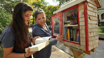 Little Free Libraries are popping up all over Baltimore | Unusual library trends | Scoop.it