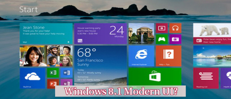 How to Uninstall the Windows 8.1 Modern UI from Your Device? Effective Tweaks | Web Development Blog, News, Articles | Scoop.it