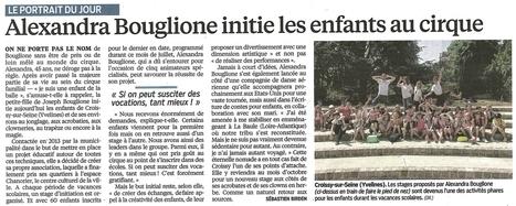 Stages cirque avec Bouglione | Espace Chanorier | Scoop.it