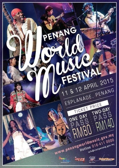 Eat your way around the Penang World Music Festival 2015 - The Malaysian Insider   Music from Around the World   Scoop.it