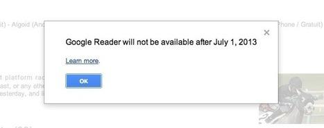 Fermeture de Google Reader – Comment survivre ? | Korben | Veille, curation, IE, KM, E-réputation | Scoop.it