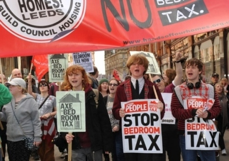 Bedroom Tax: Demand for 'no evictions' by angry Leeds tenants | Trade unions and social activism | Scoop.it
