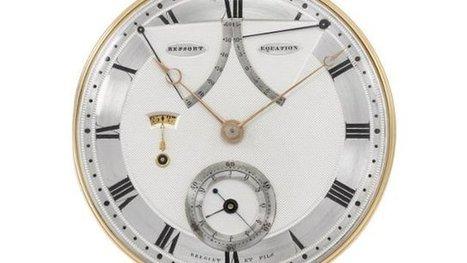 Ventes aux enchères à Genève: une montre gousset en or estimée entre 550.000 et 1,1 million d'euros - France 3 Alpes   #emploi #travail #geneve #suisse   Scoop.it