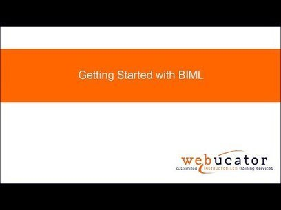 Getting Started with Biml Video | Business Intelligence | Scoop.it