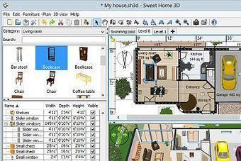 Un logiciel de dessin gratuit pour dessiner des plans de - Logiciel dessin plan maison gratuit ...