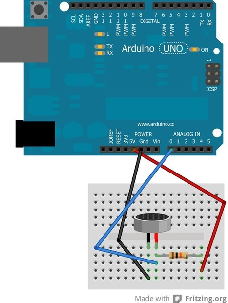 Getting going with an electret microphone and an Arduino | Arduino in the Classroom | Scoop.it