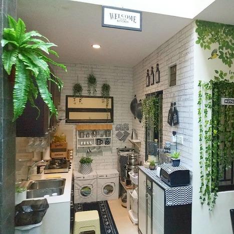 9 Desain Dapur Mungil Cantik Dan Insta