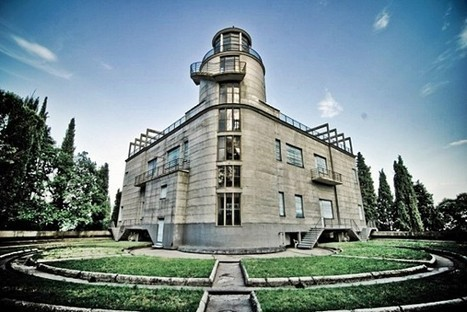 Villa Girasole, Italy: the Oldest Rotating House Follows the Path of the Sun | PROYECTO ESPACIOS | Scoop.it