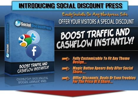Social Discount Press Review - 24 Social Discount Bonuses   Internet Marketing Tips Tools And Reviews   Scoop.it