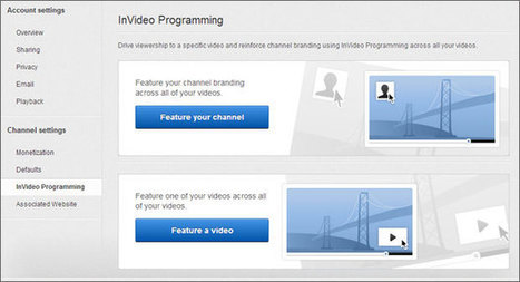 YouTube InVideo Programming Lets You Add A Logo To Your Videos | Brand Marketing & Branding | Scoop.it