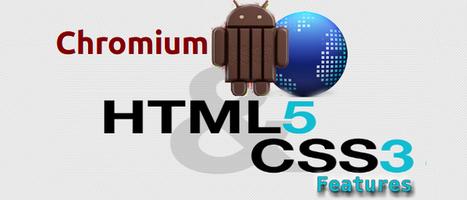 Chromium KitKat's WebView Allows Using HTML5 & CSS Features | Web Development Blog, News, Articles | Scoop.it