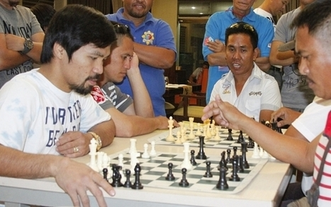 Floyd Mayweather v Manny Pacquiao: Chess helps Filipino prepare for superfight - Telegraph.co.uk | The Life Strategic | Scoop.it