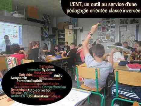 L'ENT, un outil au service de nouvelles pratiques inspirées de la classe inversée - Ludovia Magazine   TUICE_Université_Secondaire   Scoop.it