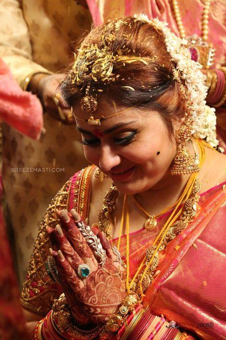 Namitha Kapoor Marriage Stills Breezemasti