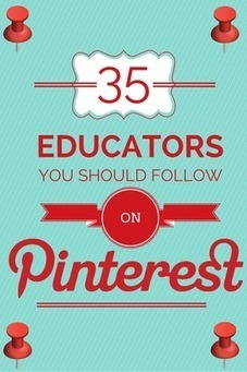 35 Educators You Should Follow on Pinterest | Online Teacher Underground | Scoop.it
