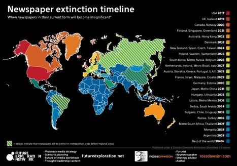 En 2025, le Canada sera-t-il le premier pays sans quotidien papier ? | L'information media sur internet | Scoop.it