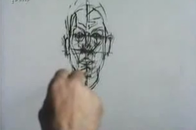 """Watch as Alberto Giacometti Paints and Pursues the Elusive """"Apparition"""" (1965) 