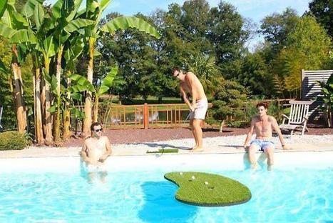 Trois jeunes ont inventé le swimming golf | Golf News by Mygolfexpert.com | Scoop.it