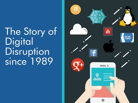 The Story of Digital Disruption since 1989 | Designing  service | Scoop.it