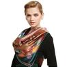 Silk Square Scarves-cassasilk.com