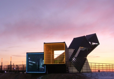 Eco-Friendly Architecture: 13 Buildings Made From Recycled Shipping Containers | retail and design | Scoop.it