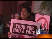 PETA Holds Protest In Orange County | Beach Living In The OC | Scoop.it