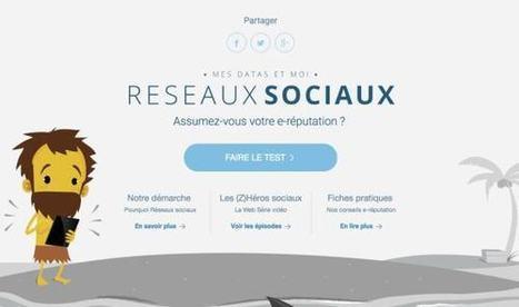 Mes Datas et moi. Réseaux sociaux et e-réputation – Les Outils Tice | Ma boîte à outils | Scoop.it