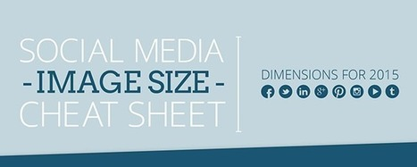 This cheat sheet shows every single profile photo size for every social media platform | Le photographe numérique | Scoop.it