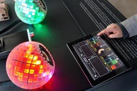 3D Printed Light Speakers | Digital Innovation | Scoop.it