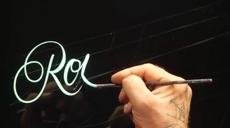 14 calígrafos que deberías conocer si eres fan de la caligrafía | El Mundo del Diseño Gráfico | Scoop.it