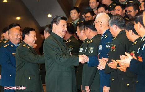 Xi Jinping rencontre des représentants de la logistique de l'APL - Radio Chine Internationale | Logistique et Transport GLT | Scoop.it
