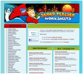 Super Teacher Worksheets - Thousands of Printable Activities